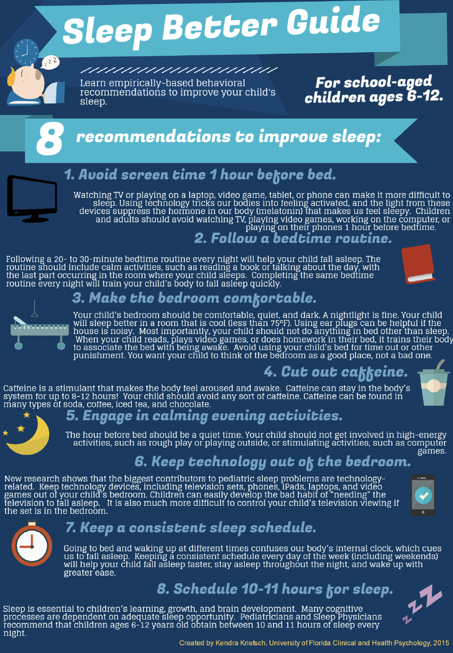 Sleep Better Guide for Ages 6-12